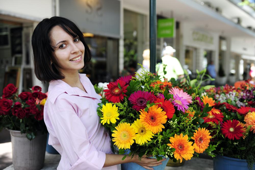small business flower shop