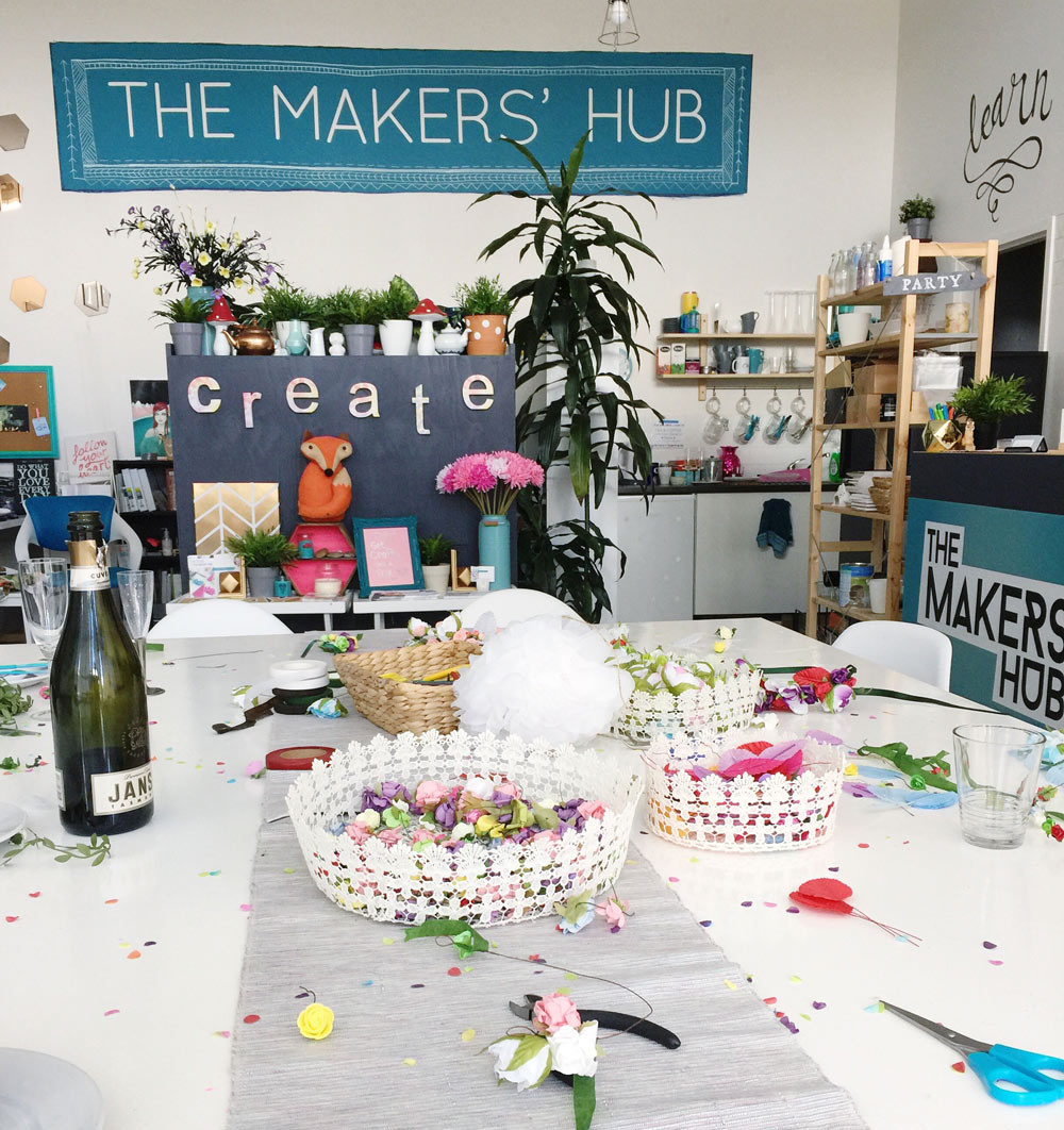 the-makers-hub canberra parties