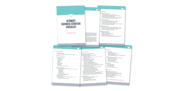 ultimate business starters checklist