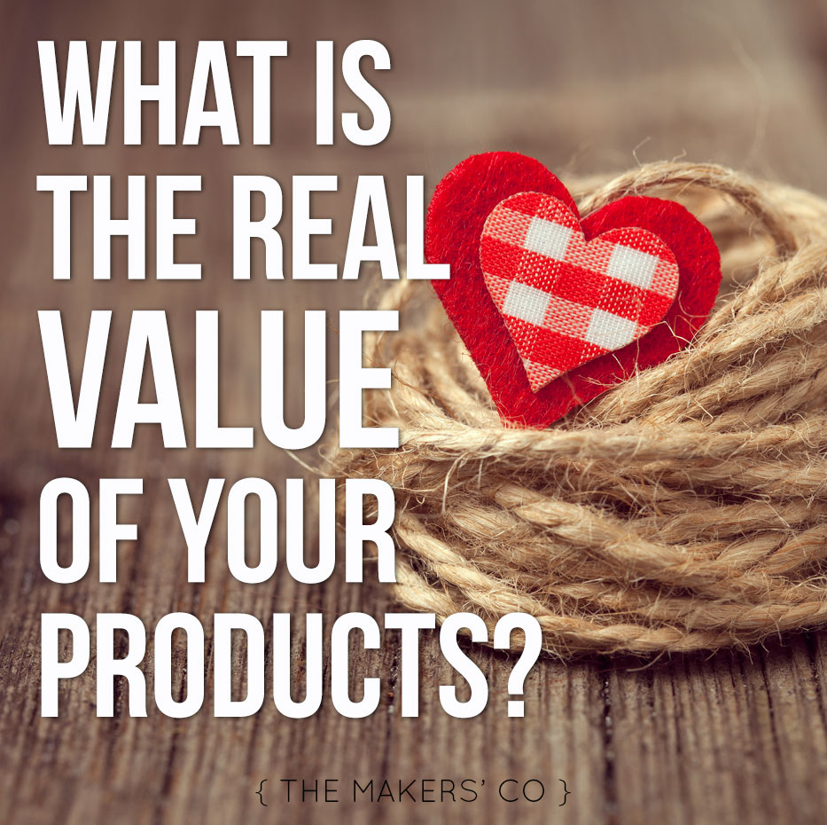 Value of your products