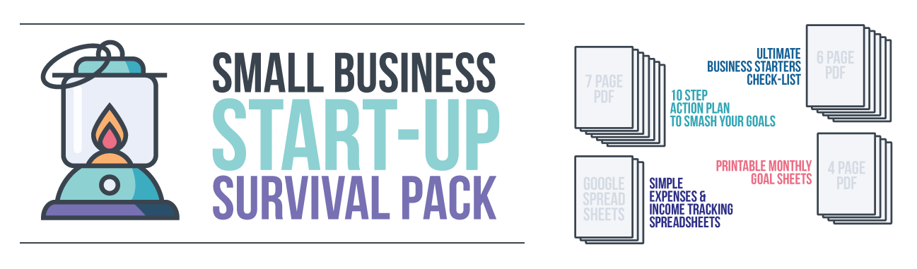 Small Business Start-Up Survival Pack