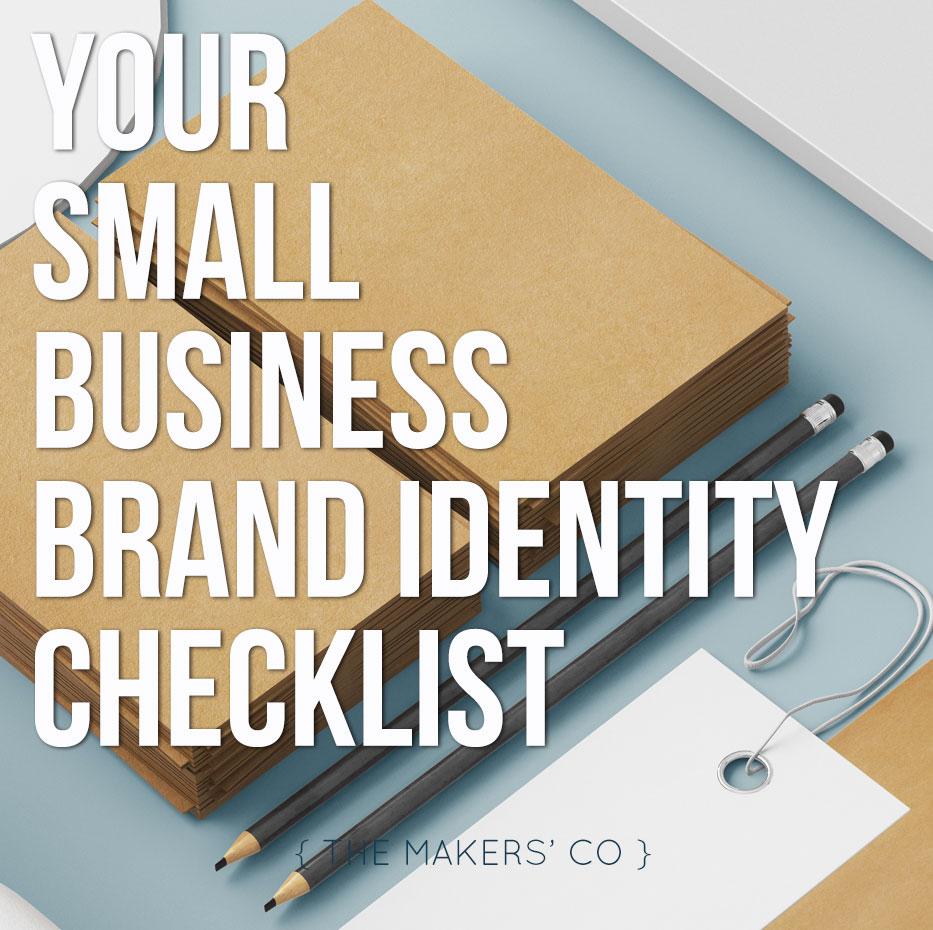 Small Business Brand Identity Checklist