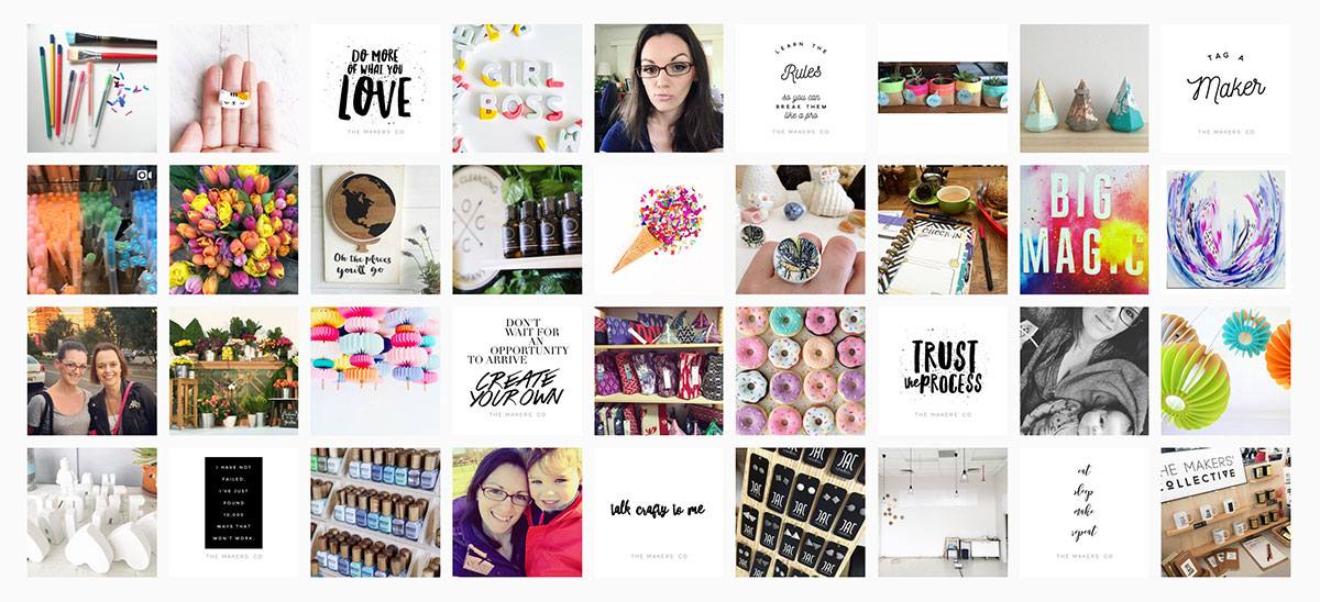 The Makers Co instagram-feed