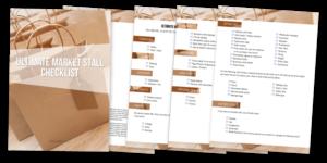 Market Stall Checklist