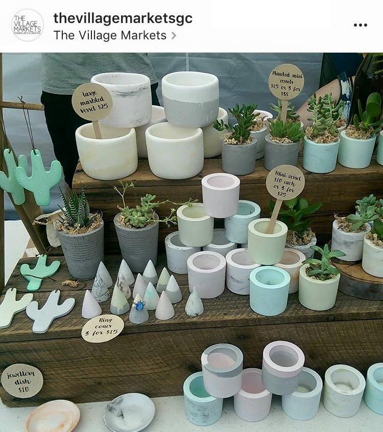 handmade market stall