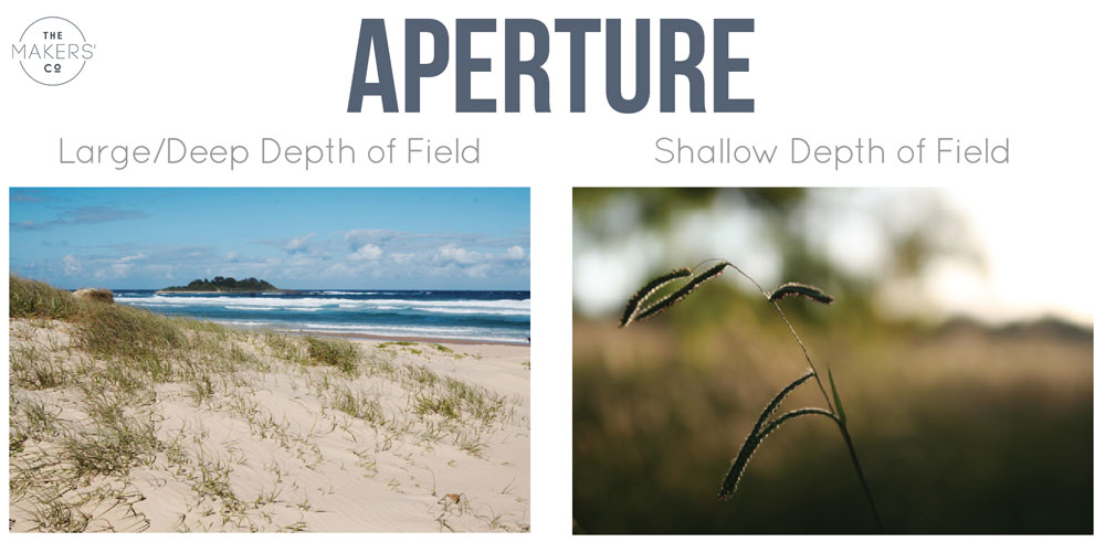 photography for begginers - aperture