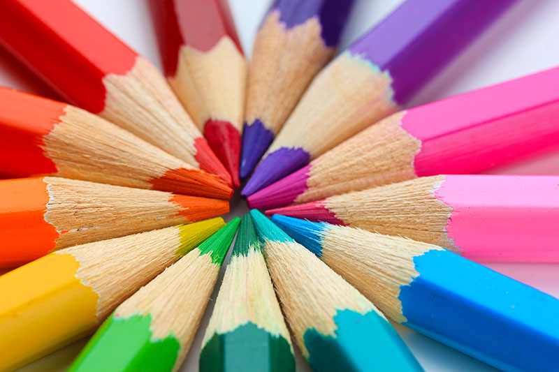 colouring in pencils