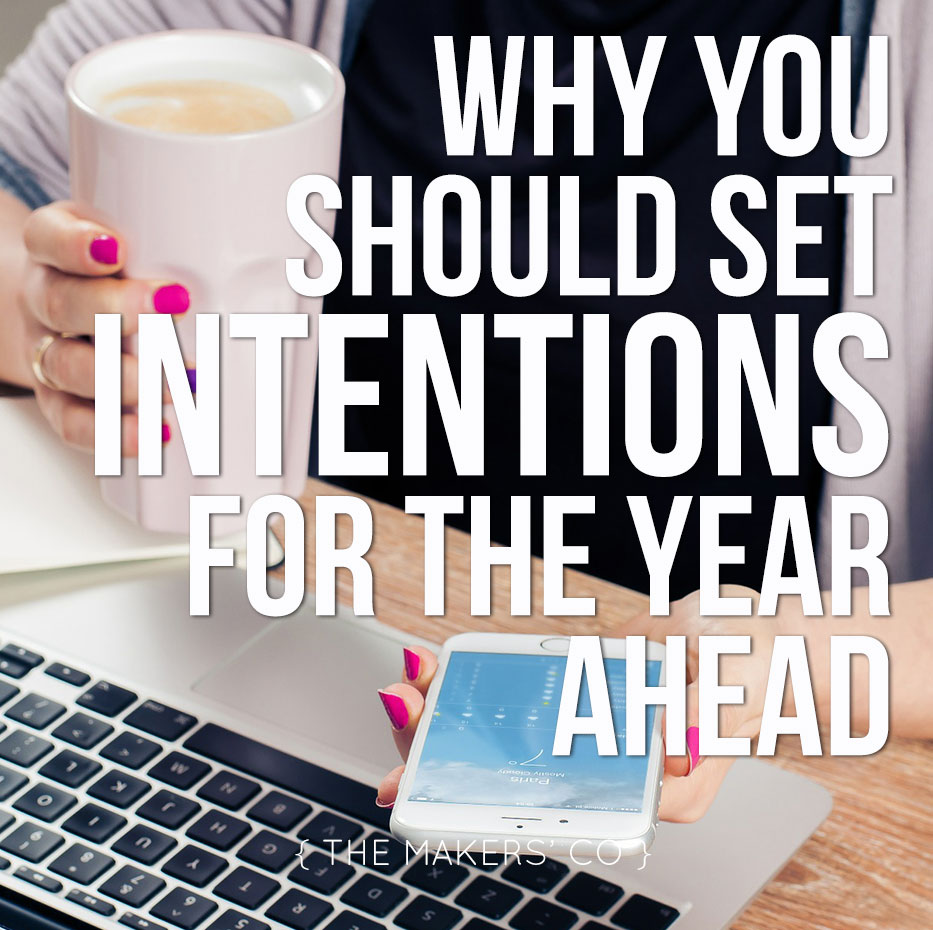Set intentions for the year ahead in business