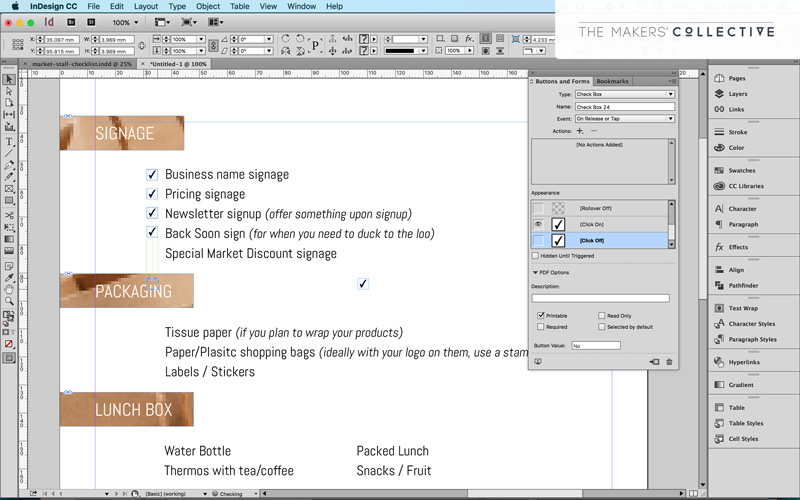 How to create an interactive PDF