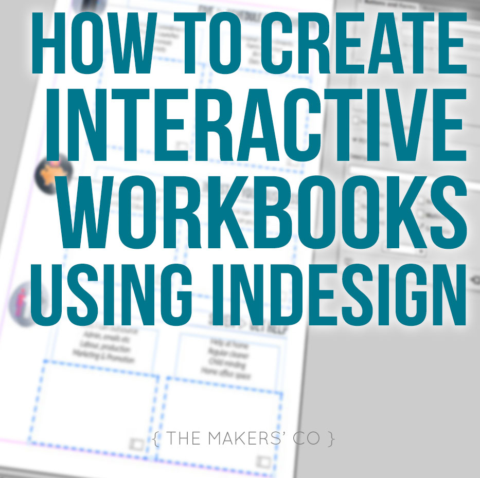 how to interactive-pdf-indesign