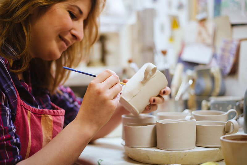 making-pottery for wholesale