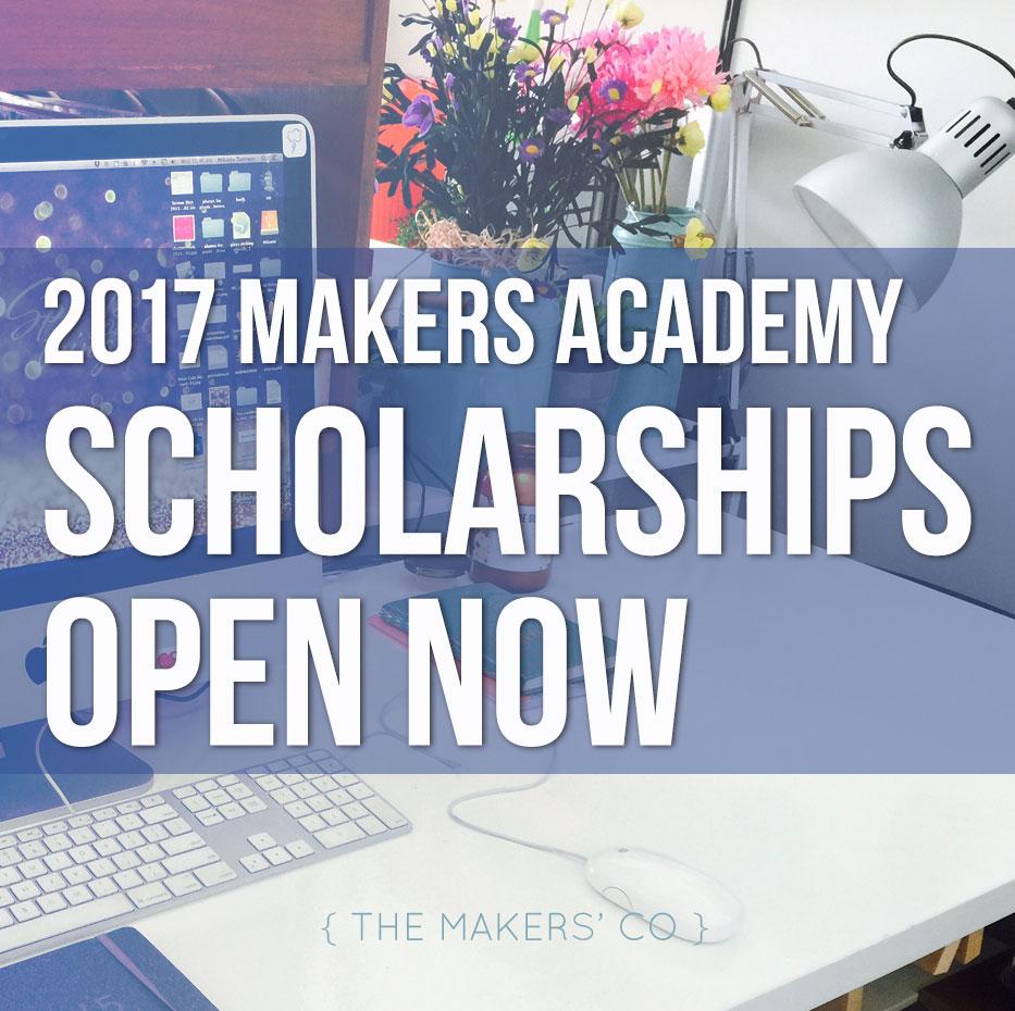 2017 Scholarships open now