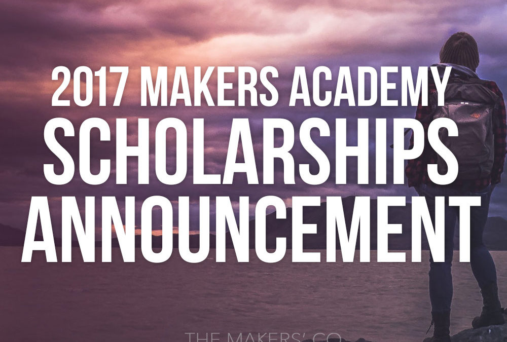 2017 Scholarship Winners announcement