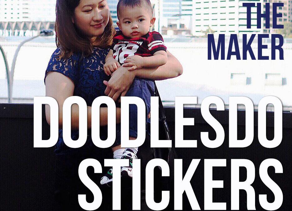 Meet the Maker – Doodlesdo Stickers