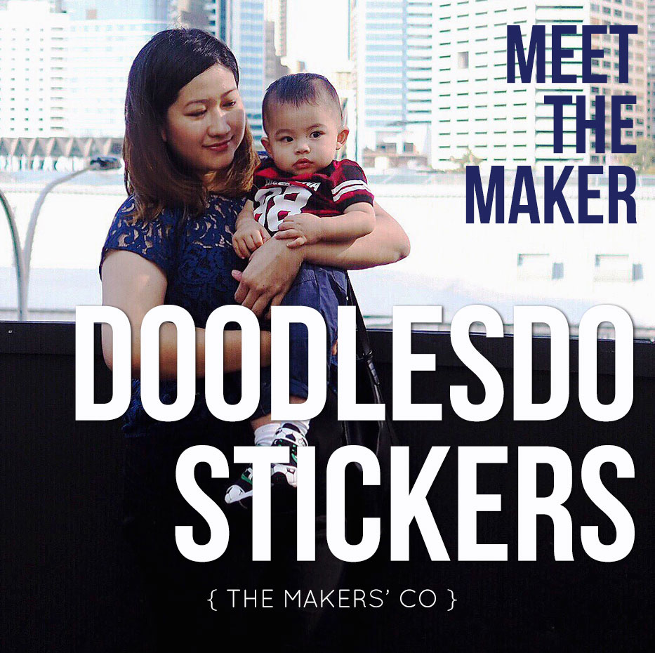 Meet The Maker - Doodlesdo Stickers