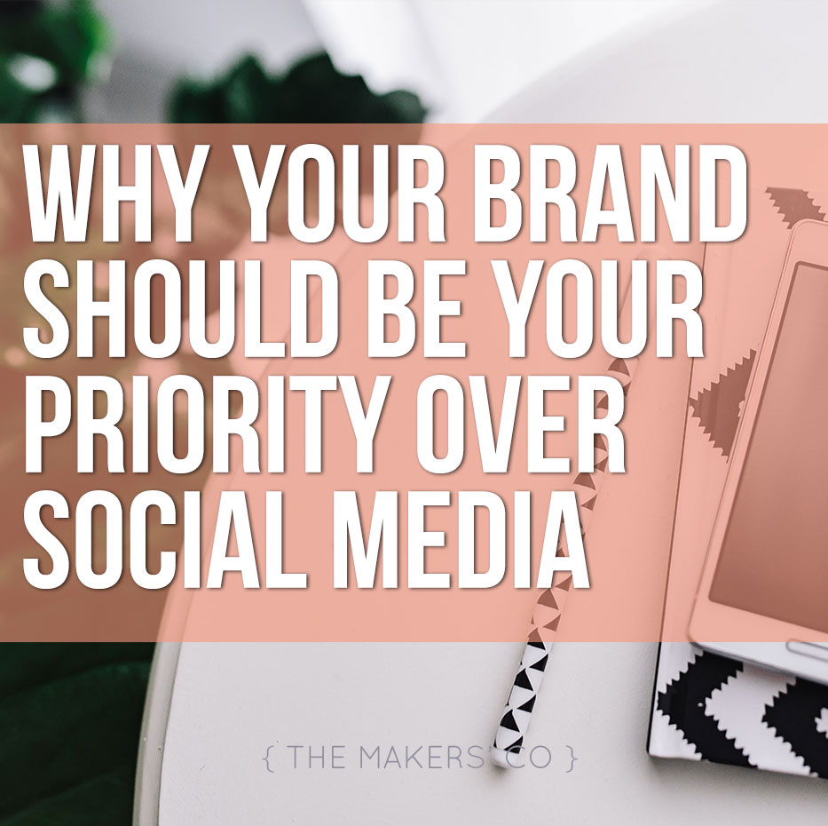 Focus on Brand over Social Media