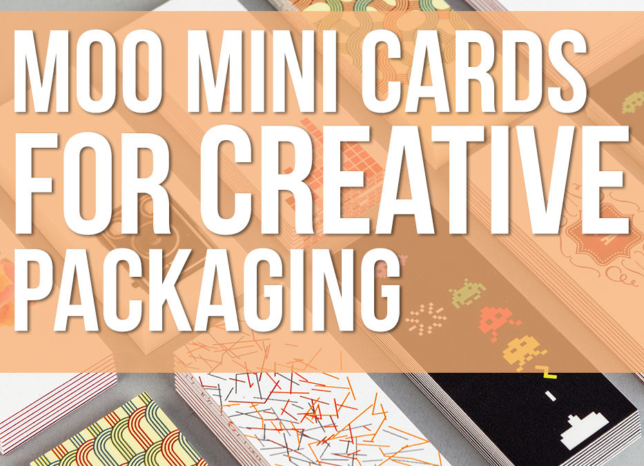 Moo Mini Cards For Creative Packaging