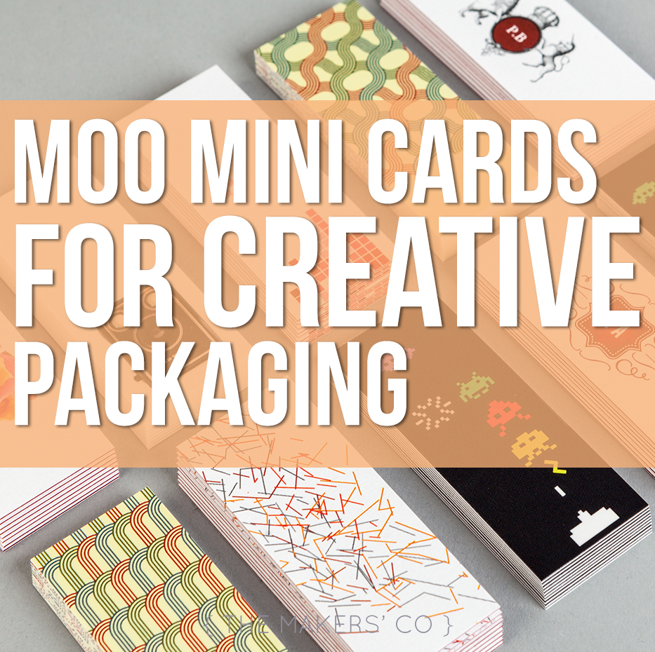 Moo Mini Cards For Creative Packaging » The Makers Collective