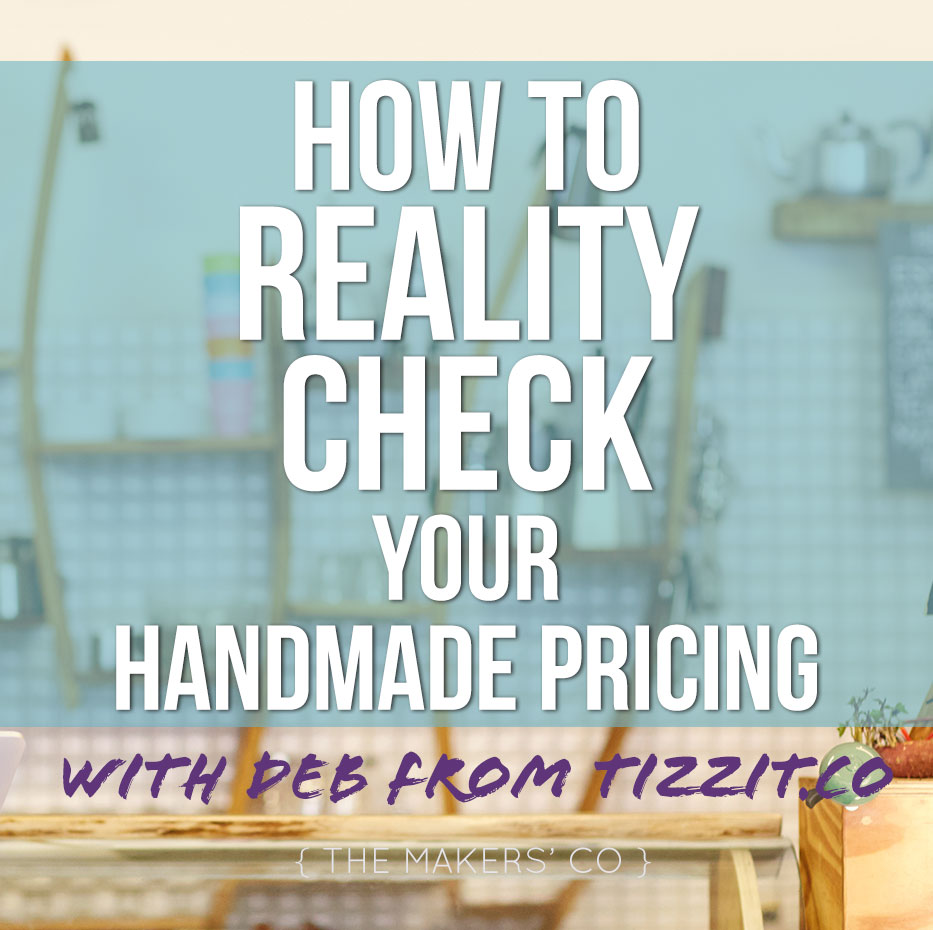 Handmade Pricing Reality check