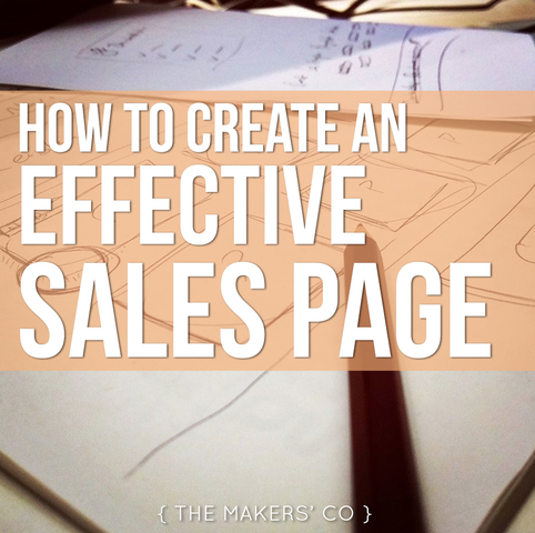 MAKERS TV Ep: 22 How to create an effective sales page