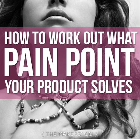 MAKERS TV Ep 20: How to work out what Pain Point your product solves