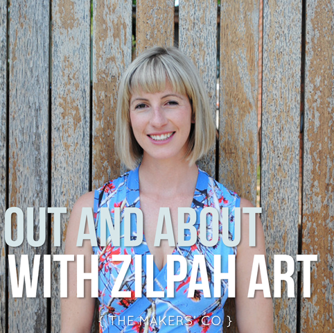 MAKERS TV Ep 008: Out and About with Yumi of Zilpah Tart