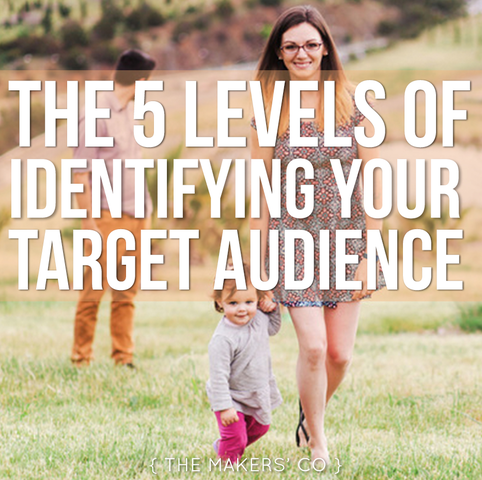 MAKERS TV Ep 003: The 5 levels of identifying your target audience