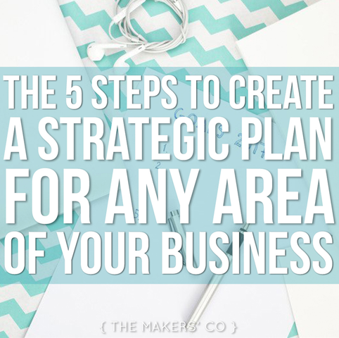 MAKERS TV Ep 009: The five steps to create a Strategic Plan for any area of your business