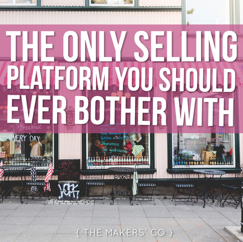 Makers TV Ep: 37 The ONLY selling platform you should bother with